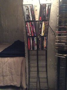 DVD stand and movies