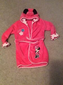 Brand new (without tags) 3T Minnie Mouse housecoat