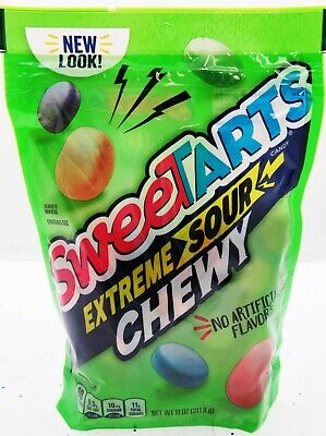 Sweetarts Extreme Sour Chewy Candy ~ 11oz bag ~ Sweet Tarts Resealable Bag ](Sweet Tarts Candy)