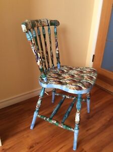 Decoupaged Vintage Chair
