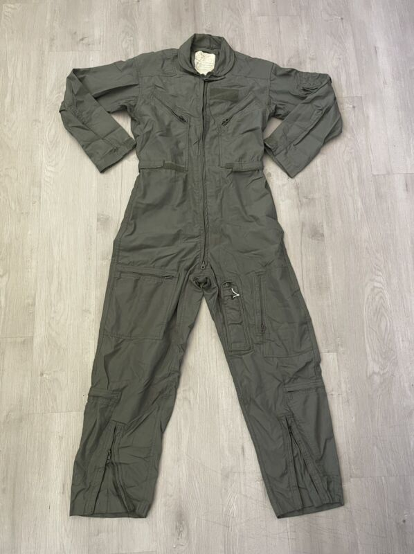 Coveralls Flyers US Air Force Summer Fire Resistant  Green CWU-27P Size 40L