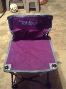"""Tot Spot"" foldable chair"