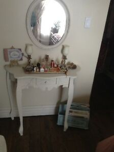 Table et chaise shabby chic