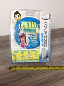 NEW Nintendo Wii GameShark Media Manager