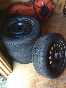 WESTLAKE SNOWMASTER TIRES WITH RIMS