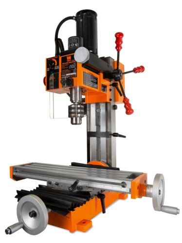 WEN 33013 4.5A Variable Speed Single Phase Compact Benchtop Milling Machine