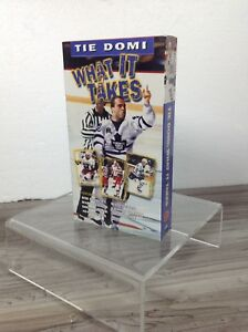 RARE Tie Domi: What It Takes VHS 2000