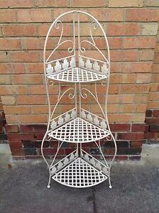 SOLID WROUGHT IRON SHELVING UNIT Reservoir Darebin Area Preview