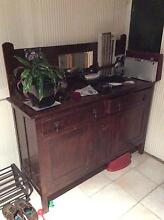 Antique Sideboard Buffet Solid Timber Camp Hill Brisbane South East Preview