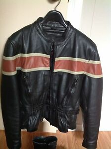 Women's Motorcycle Jacket  and Harley Boots