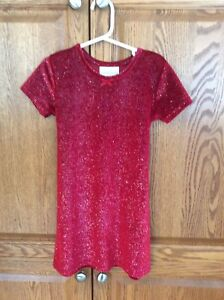 Sparkly Red Dress - Little Girls Size 6
