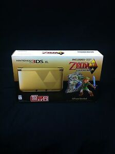 Nintendo 3DS XL Zelda limited edition NEW