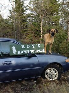 ROYS ARMY SURPLUS  = 506-633-3003