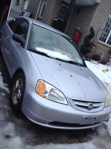2001 Honda Civic coupe ex