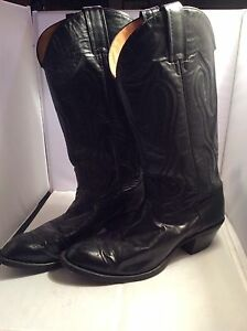 Men's Cowboy Boots Black size 10 narrow