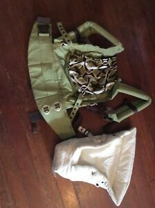 Ergo carrier and breast pump
