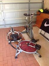 Spin bike, rower , ab machine Innaloo Stirling Area Preview