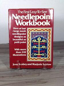 1977 needlepoint workbook
