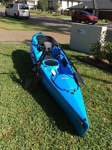 Hobie Revolution 11 Mirage peddle drive kayak Port Macquarie Port Macquarie City Preview