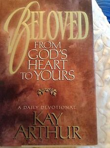 "Hardcover Devotional Book! ""Beloved"" by Kay Arthur"