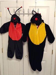 2 Ladybug costumes