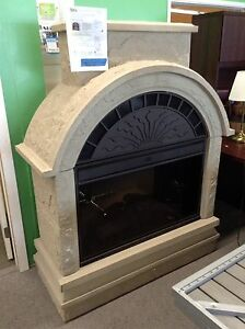 Electric outdoor Fireplace