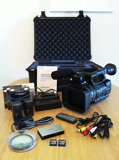 *PRICE DROP* AS NEW Sony HXR-NX5P PAL Video Camera+Case+More Parkside Unley Area Preview