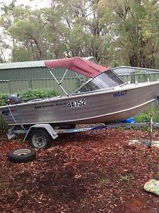 2008 Quintrex runabout Kenwick Gosnells Area Preview