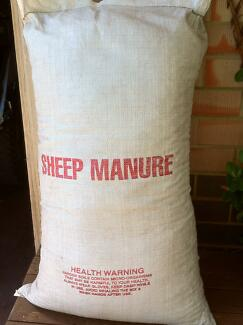 Sheep Manure 80L Bags WEED FREE $11 per bag, delivery extra