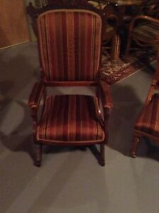 Antique Rocker and Chair