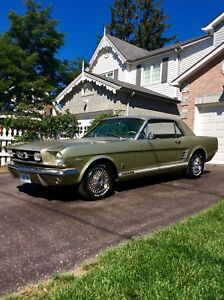 Selling Off A 1966 Mustang GT