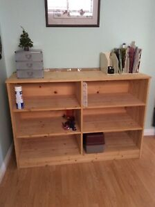 Moving must sell. Solid wood storage unit