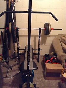 Gym Workout Set + 200lbs in Pounds