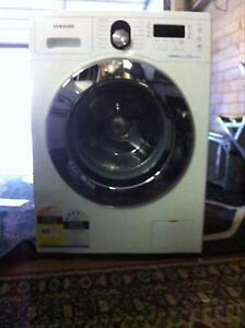 samsung 8kg bubble wash front loading washing machine Redcliffe Belmont Area Preview