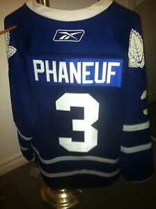 Dion Phaneuf leafs jersey COA