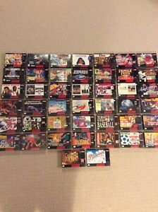 Snes games cib