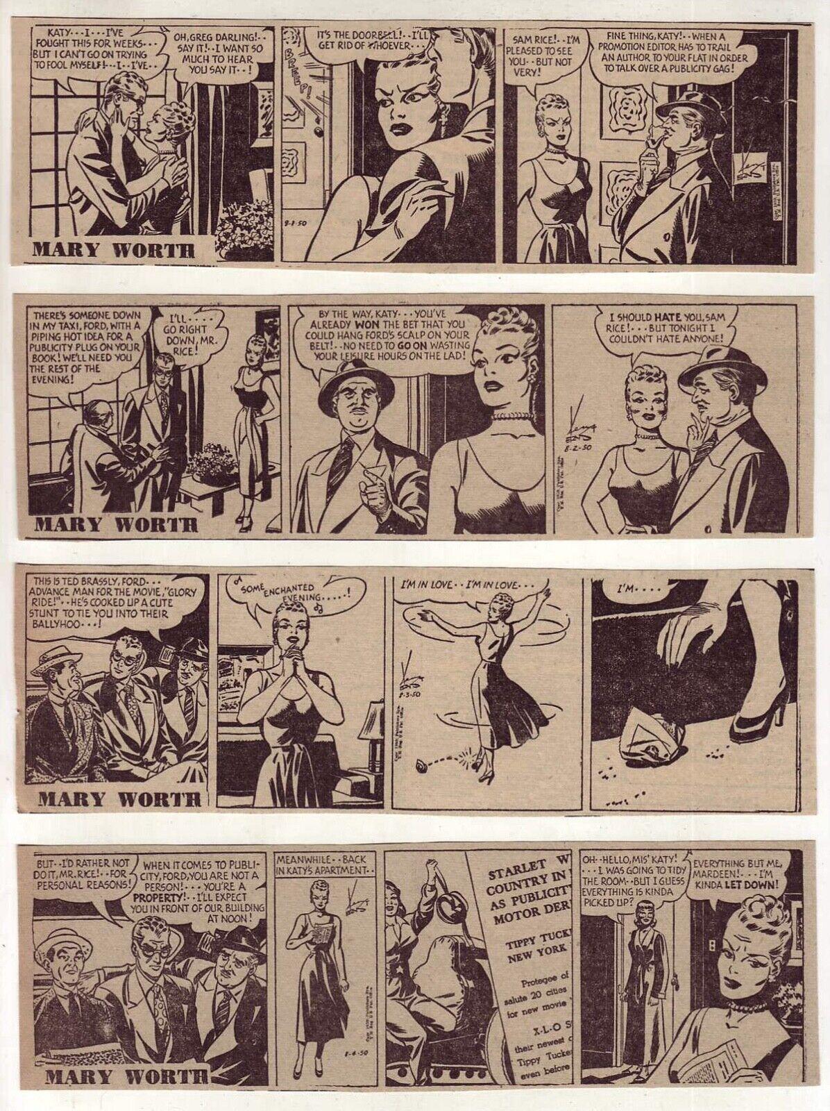 Comic mary strip worth