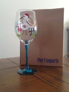 Pier 1 imports wine glasses