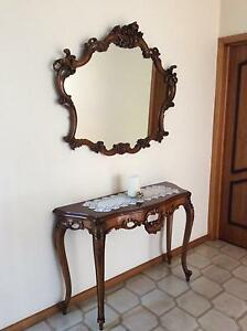 Antique Mirror & Table Templestowe Lower Manningham Area Preview