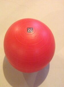 Bally Total fitness sm exercise ball - red