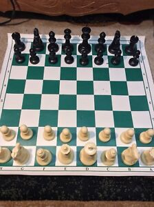 """Plastic Chess Piece approx. 4"""" Inch King"""