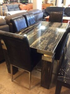 Marble Dining Suite Wangara Wanneroo Area Preview