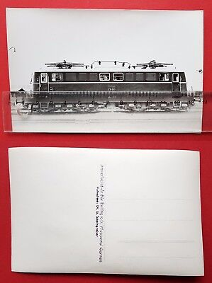 Eisenbahn Foto AK von Bellingrodt DB E-Lok E10 003       ( 24728