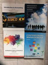 Curtin University Bachelor of Commerce First Year Unit Textbooks Murdoch Melville Area Preview