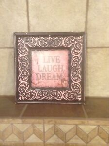 Live Laugh Dream Wall Hanging