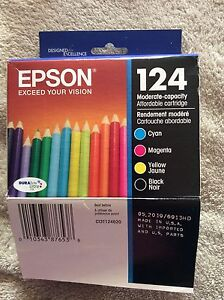 Epson 124 Four Ink Cartridges