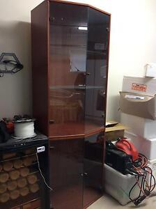 Timber/glass Cabinet Oakville Hawkesbury Area Preview