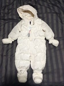 Brand new baby snowsuit - 6-12m