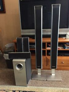 6 Panasonic Home Theatre Speaker Set