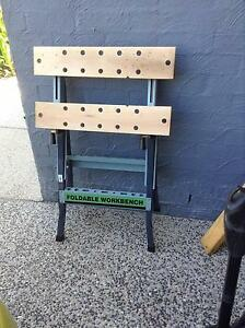 FOLDABLE WORKBENCH ADJUSTABLE WITH VIS Mitchelton Brisbane North West Preview